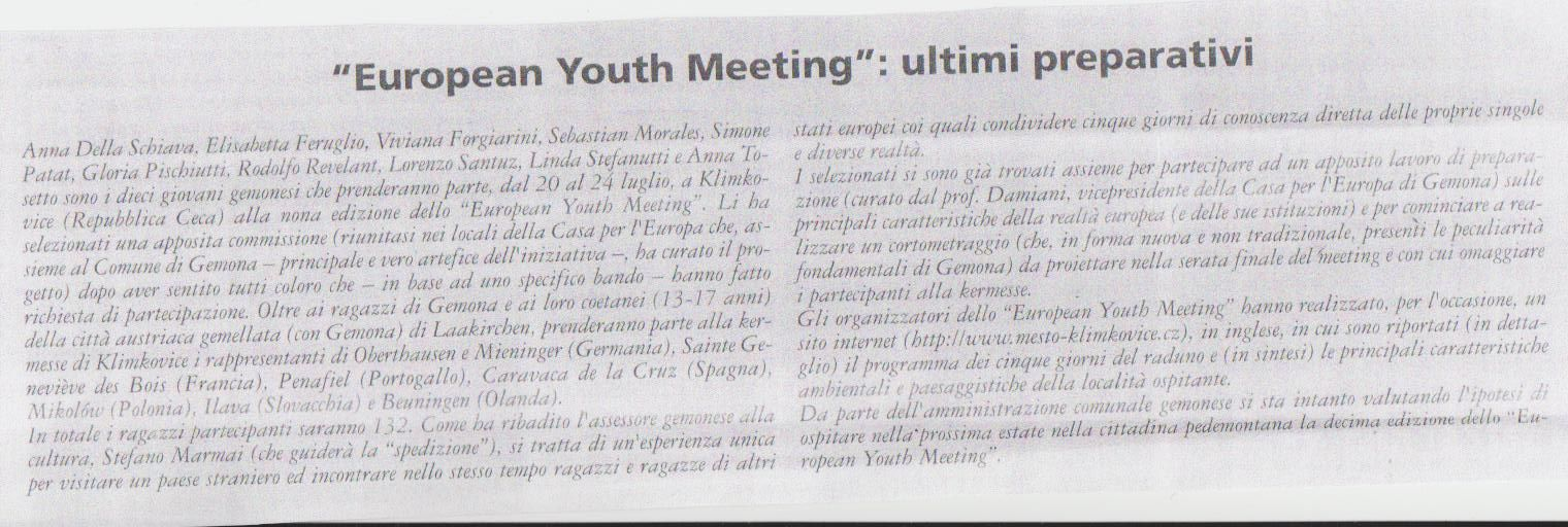 european youth meeting... v.d.m. luglio 2010 001