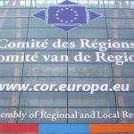 Stage al Comitato delle Regioni dell'UE a Bruxelles
