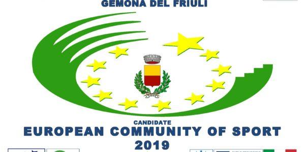 """Con """"Sportland"""" Gemona si aggiudica il titolo di """"Comunità europea dello sport 2019"""""""