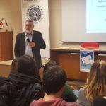 DestinatiON Europe – Bernd Faas in due scuole per spiegare le opportunità all'estero per i giovani!