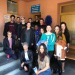 """I partecipanti al progetto """"Formation en Action-Tadrib Fe3al!"""" in visita alla Casa per l'Europa"""