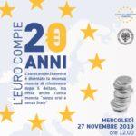 """Convegno """"L'euro compie 20 anni"""""""