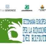 Settimana europea per la riduzione dei rifiuti 22 novembre – 7 dicembre