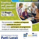 Seminario online gratuito per giovani imprenditori