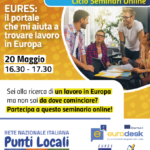 Continuano i webinar sulle opportunità in UE #DistantiMaInformati