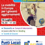 Webinar #DistantiMaInformati – La mobilità in Europa